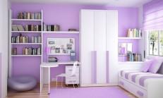 Lila Rengi Duvar Boyası