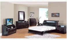 Siyah Beyaz Yatak Odası Modelleri