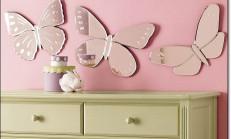 Kelebek Ayna Modelleri