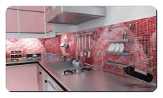 Mutfak Tezgah Arası Cam Mozaik Modelleri