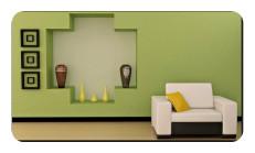Asker Yeşili Duvar Boyası