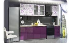 Çiçek Desenli Mutfak Dolabı Modelleri