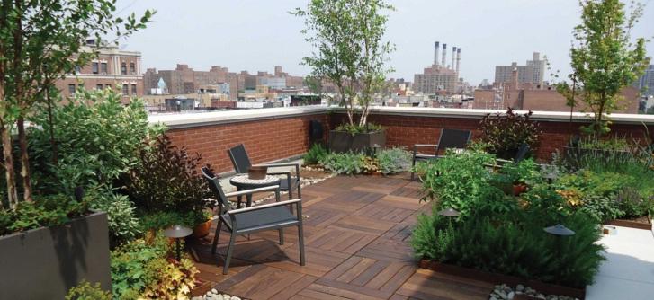 Çatı Bahçesi Tasarımları