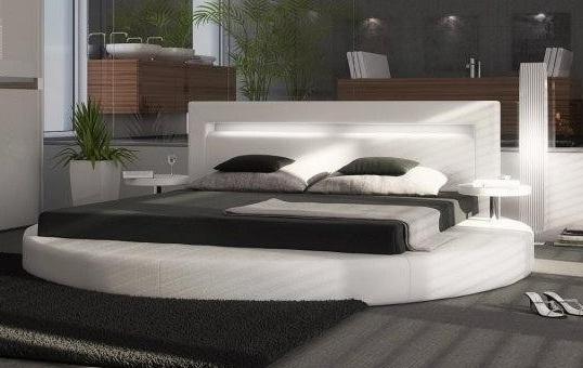 Japon Style Yuvarlak Yatak Tasarımları