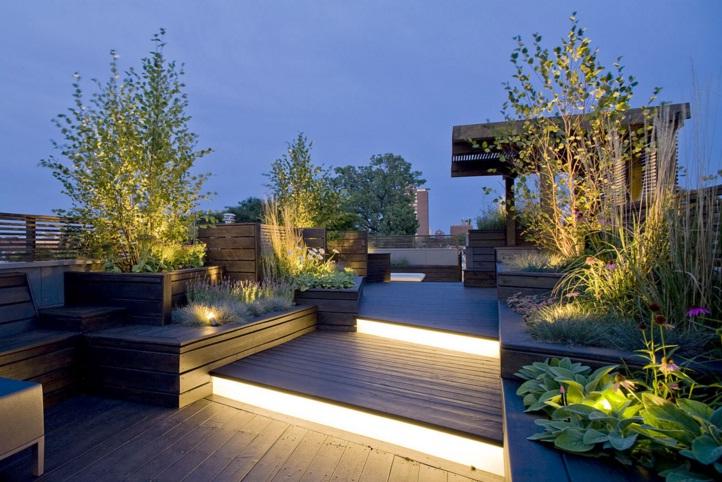 Modern Çatı Bahçesi