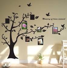 Ağaç Desenli Duvar Stickerları