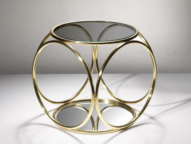 Altın Rengi Metal Sehpa Modelleri