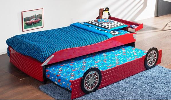 Arabalı Yavrulu Yatak Modelleri