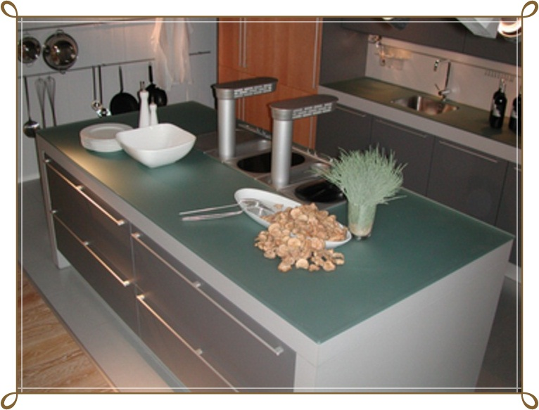 Cam Mutfak Tezgahı Modelleri-8