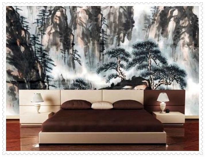 Güzel Yatak Odası Duvar Kağıdı