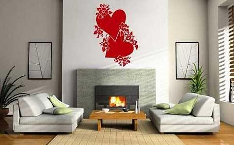 Kalpli Duvar Stickerları