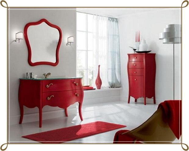 Kırmızı Ayaklı Makyaj Masası Modelleri