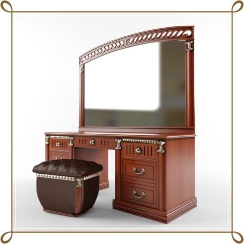 Klasik Görünümlü Makyaj Masası Modelleri