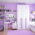 Lila Rengi Oturma Odası