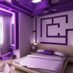 Lila Rengi Yatak Odası-2