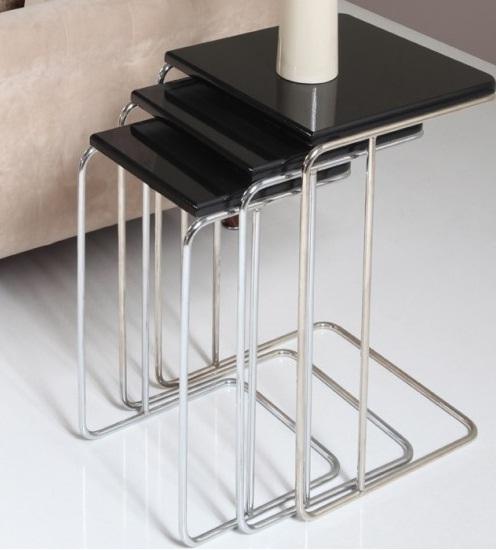 Metal Ayaklı Zingon Sehpa Modeli