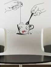 Modern Duvar Stickerları