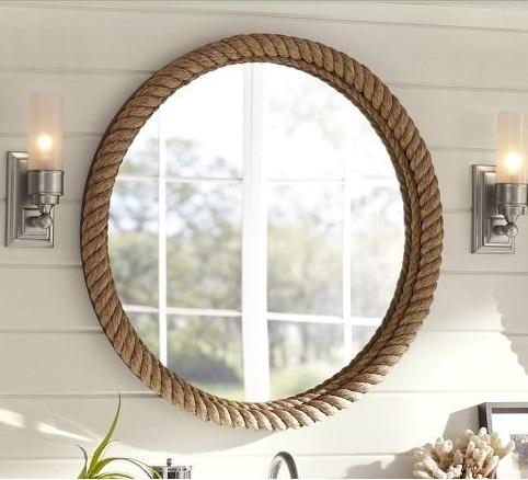 Şık Tasarım Salon Ayna Modeli