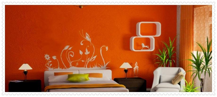 Şık Yatak Odası Duvar Kağıdı