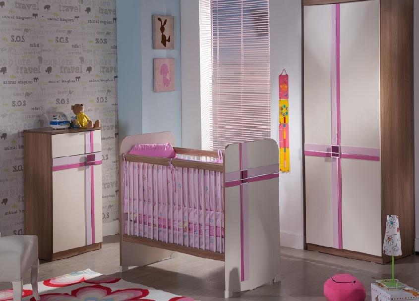 İstikbal Vesta Kız Bebek Odası Takımı