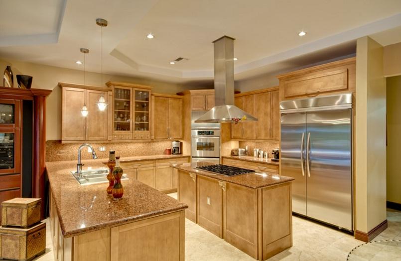 Granit Tezgah ve Mutfak Tasarım Fikirleri