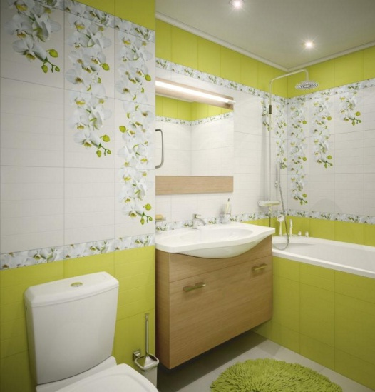 Banyo Limon Çiçeği Rengi