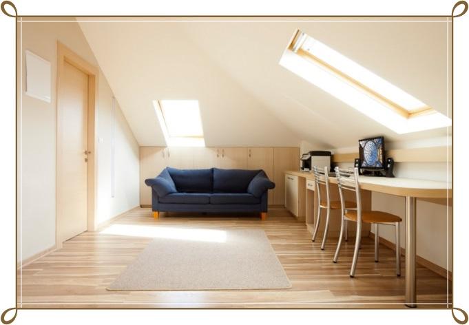 Çatı Katı Çalışma Odası