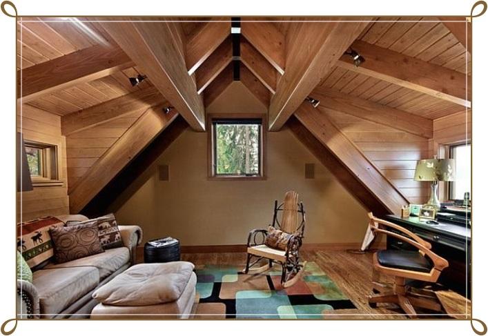 Çatı Katı Dekorasyon Örnekleri - 1