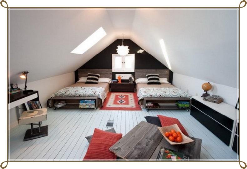 Çatı Katı Dekorasyon Örnekleri - 2