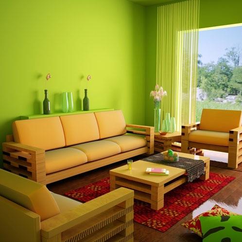 Misafir Odası Limon Çiçeği Rengi