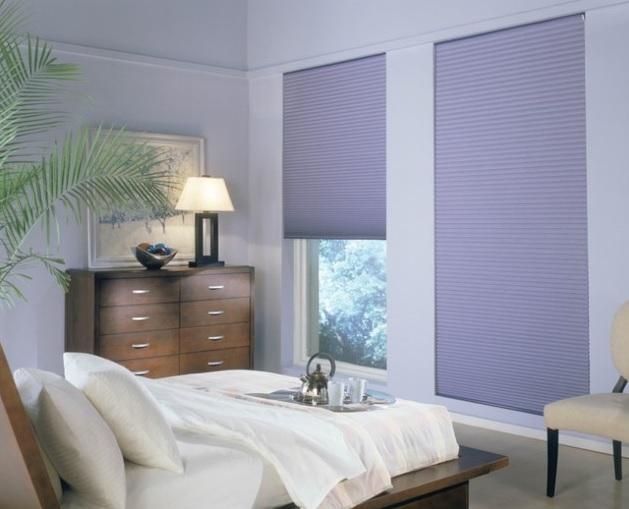 Moda Leylak Rengi Yatak Odası