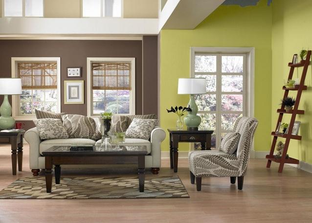 Oturma Odası Limon Çiçeği Rengi