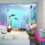 Yeni Tasarım Çocuk Odası Duvar Kağıdı