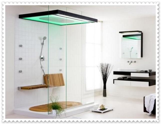 Işıklı Modern Duşakabin Modelleri