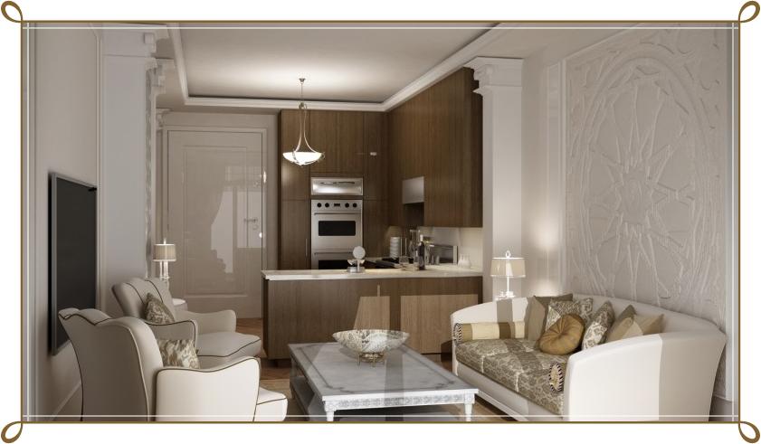 1+1 Evler İçin L Mutfak Tasarımı