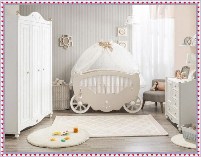 Erkek ve Kız Bebeklere Uygun Bebek Odaları