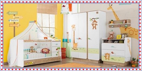 Küçük Bebek Odalarına Uygun Bebek Odası Takımları