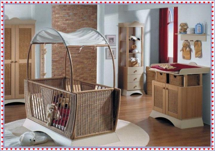 Estetik Görünümlü Bebek Odaları