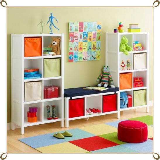 Bebek Odası Kitaplık Modelleri