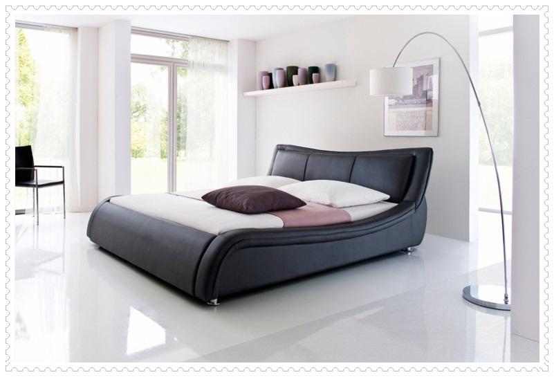 Dekoratif Modern Siyah Beyaz Yatak Odası