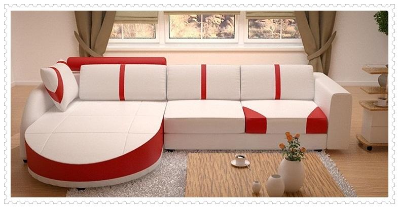 Kırmızı Beyaz Koltuk Modelleri-2