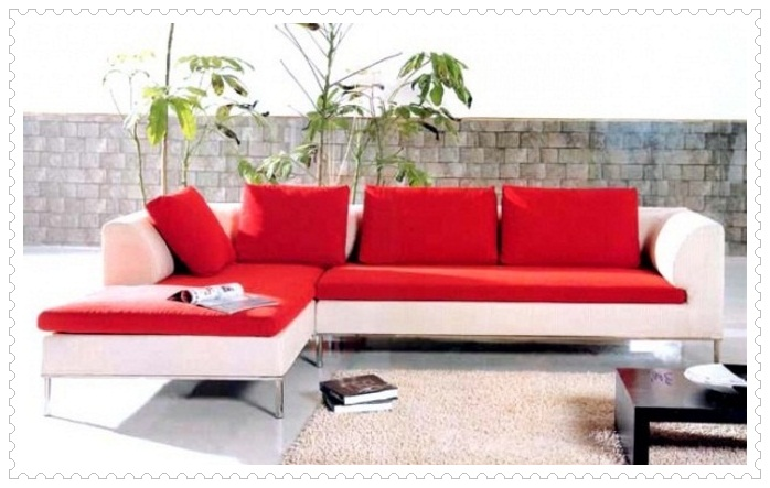 Kırmızı Beyaz Koltuk Modelleri-3