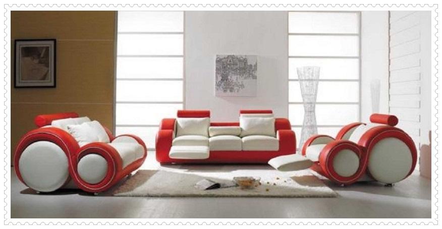 Kırmızı Beyaz Koltuk Modelleri-4