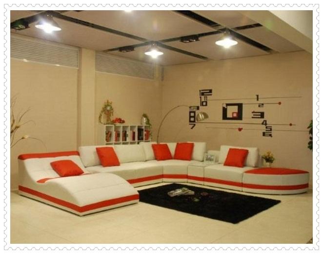 Kırmızı Beyaz Koltuk Modelleri-5