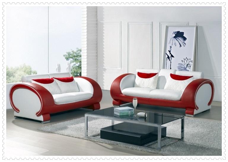 Kırmızı Beyaz Koltuk Modelleri-6