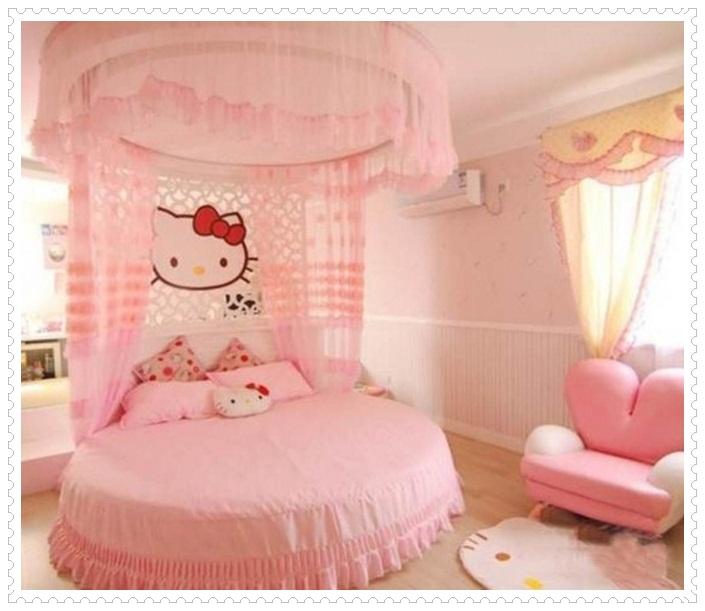 Kız Çocuk Odası Dekorasyonu-6