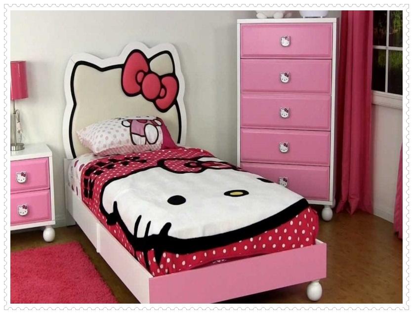 Kız Çocuk Odası Dekorasyonu-8