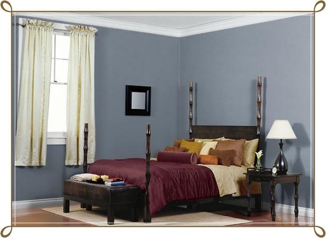 Kül Bulutu Rengi Modern Yatak Odası