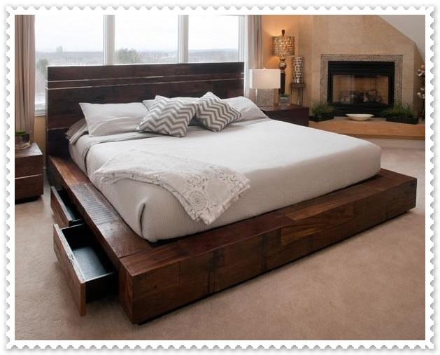 Modern Rustik Yatak Odaları