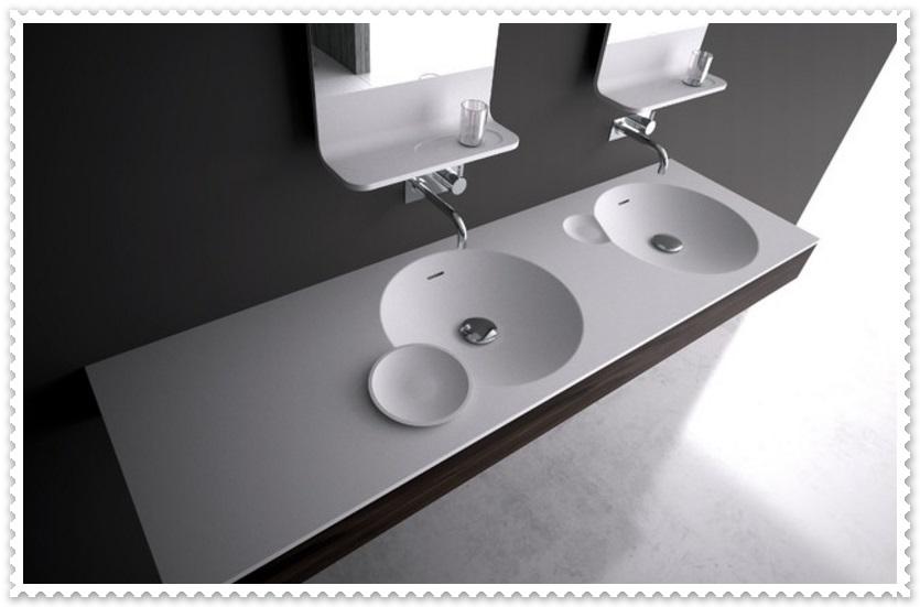 Modern Tasarım İkili Lavabo Modelleri